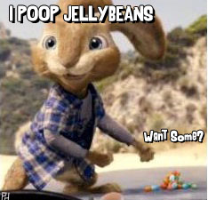 poop jelly beans